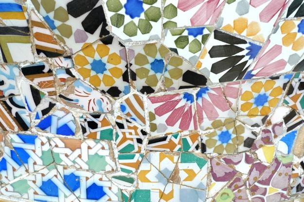 Gaudi Mosaics, Parc Guell