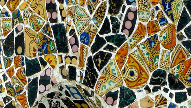 gaudi,mosaics,barcelona2