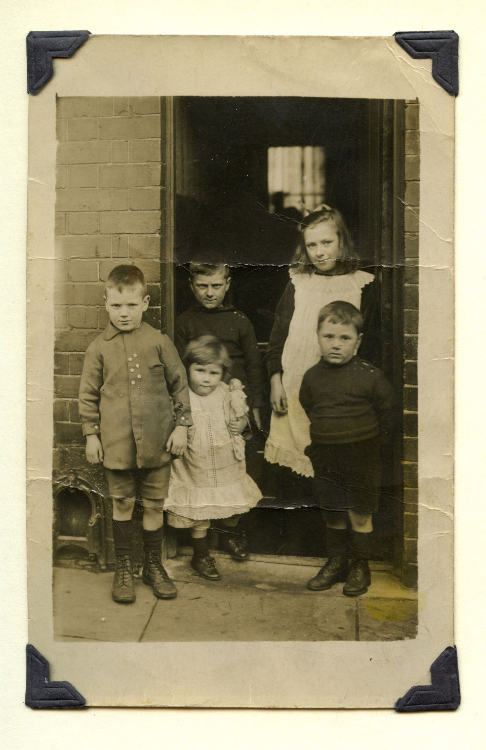 image of kids from the family album