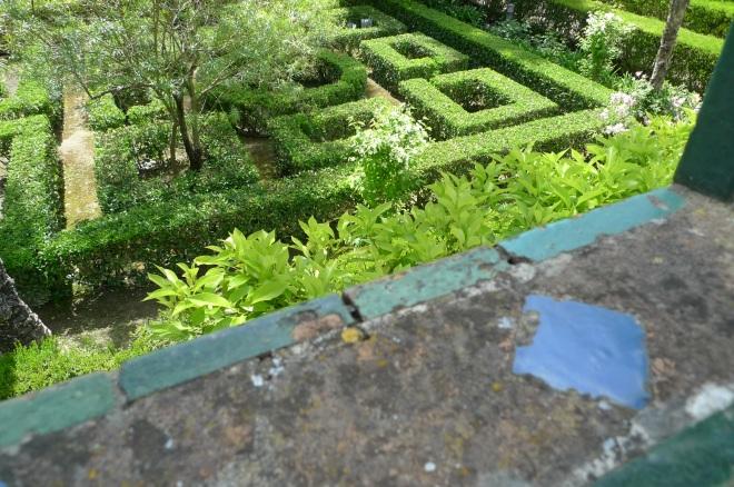 Alcazar Real gardens